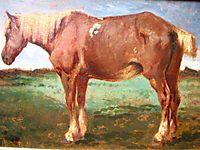 Horse Portrait, troyon