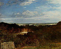 A View Towards The Seine From Suresnes, troyon