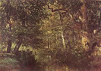 Watercourse in the woods, c.1860, troyon