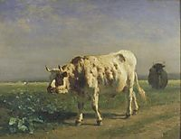 The white bull, troyon