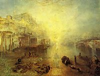 Ancient Italy Ovid Banished from Rome, 1838, turner