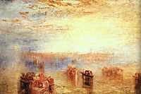 Approach to Venice, 1843, turner
