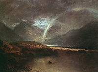 Buttermere Lake, A Shower, 1798, turner