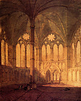 The Chapter House, Salisbury Chathedral, turner