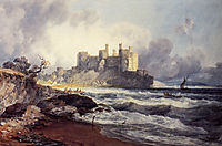 Conway Castle, turner