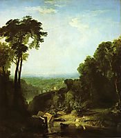 Crossing the Brook, 1815, turner