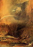 The Devil-s Bridge, Saint Gothard, turner