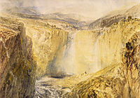 Fall of the Trees, Yorkshire, turner