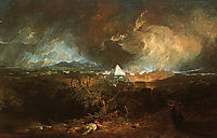 The Fifth Plague of Egypt, 1800, turner