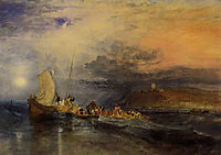 Folkestone from the Sea, turner