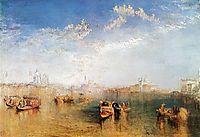 Giudecca, la Donna della Salute and San Georgio, 1841, turner