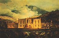 Hafod, 1799, turner