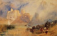 Kidwelly Castle, turner