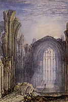 Melrose Abbey, turner