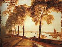 Mortlake Terrace, 1826, turner