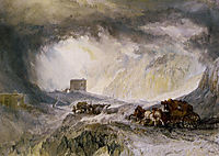 Passage of Mount Cenis, turner