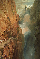 The Passage of the Saint Gothard, 1804, turner