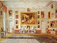 Petworth, the Drawing room, 1828, turner