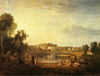 Pope-s Villa, at Twickenham, 1808, turner