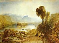 Prudhoe Castle, Northumberland, 1826, turner