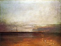 Rocky Bay with Figures, 1830, turner