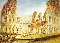 Rome, The Colosseum, 1820, turner