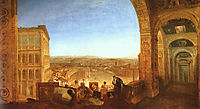 Rome from the Vatican, 1820, turner