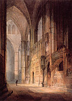 Saint Erasmus in Bishop Islips Chapel, Westminster Abbey, turner