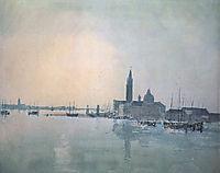 San Giorgio Maggiore in the Morning, turner