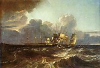 Ships Bearing Up for Anchorage, 1802, turner