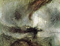Snow Storm SteamBoat, 1842, turner