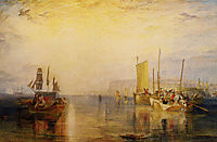 Sunrise. Whiting Fishing at Margate, turner