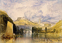 Totnes, in the River Dart, turner