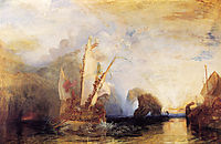 Ulysses Deriding Polyphemus, 1829, turner