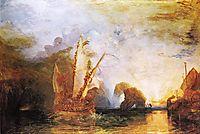 Ulysses Deriding Polyphemus Homer-s Odyssey, 1829, turner