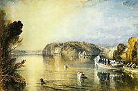 Virginia Water, 1829, turner