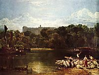 Windsor Castle from the Thames, 1804-1806, turner