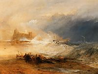 Wreckers Coast of Northumberland, 1834, turner