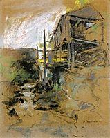 Abandoned Mill, c.1888, twachtman