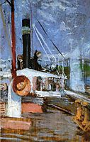 Aboard a Steamer, 1902, twachtman