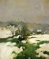 An Early Winter, c.1882, twachtman
