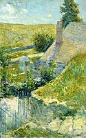 Artist-s Home Seen from the Back, c.1895, twachtman