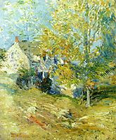 The Artist-s House through the Trees (also known as Autumn Afternoon), c.1895, twachtman