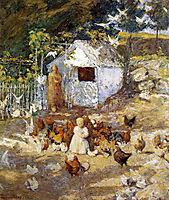 Barnyard, 1900, twachtman