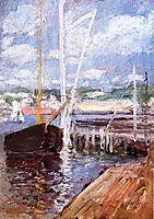 Boat Landing, c.1902, twachtman