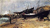 The Boat Yard, twachtman