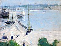 Boats at Anchor, c.1900, twachtman
