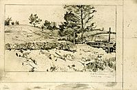 Branchville Fields, c.1888, twachtman