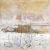 Bridge in Winter, 1901, twachtman