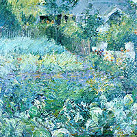 The Cabbage Patch, 1893, twachtman